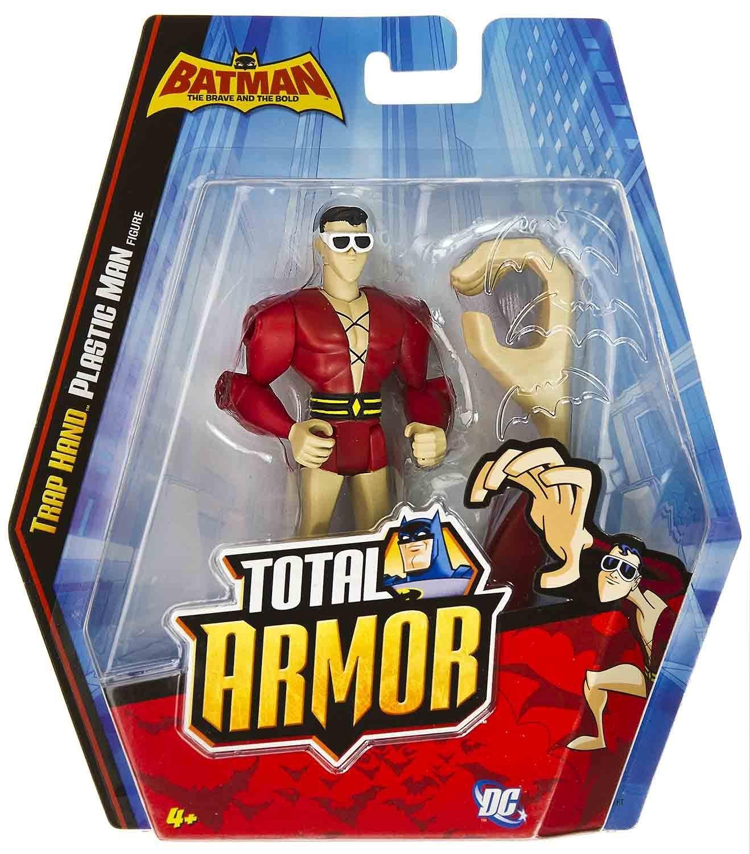 Batman Total Armor TRAP HAND PLASTIC MAN Figure Stuffing Stuffer Boys Gift 4+