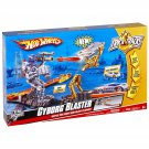 BIG Hot Wheels Tricks Tracks CYBORG BLASTER + Car + Starter Playset Boys Gift 4+