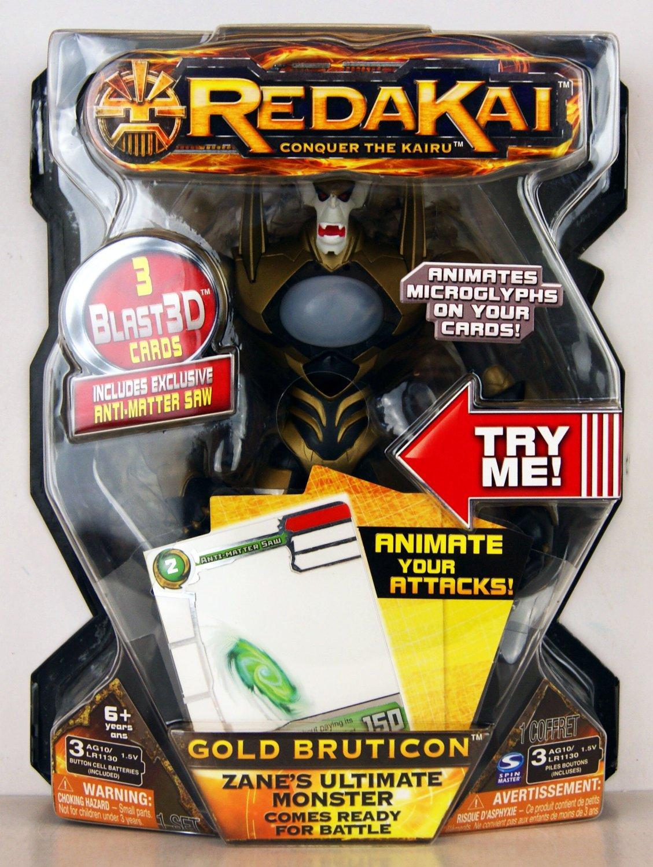 Redakai Gold Bruticon Zane's Ultimate Monster Deluxe Figure + Cards Gift Boys 6+