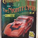 The Nightflyer '78 Corvette Night Crawler Series Build Snap Assembly Car Boys 8+