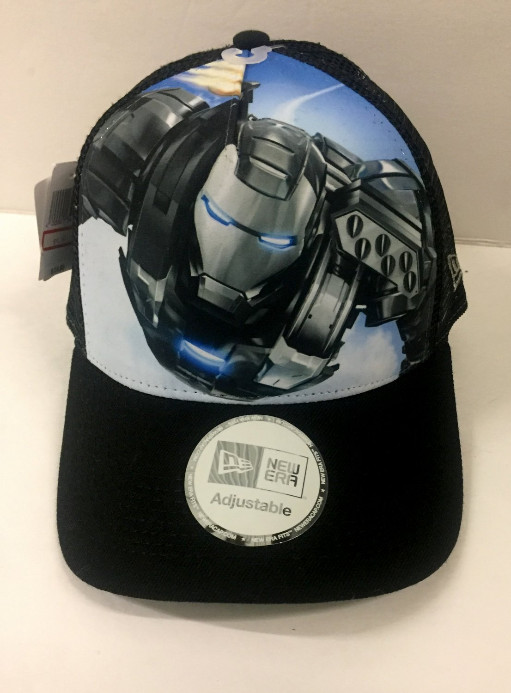 New Era Adjustable Iron Man Marvel Cap Trucker Hat Men's