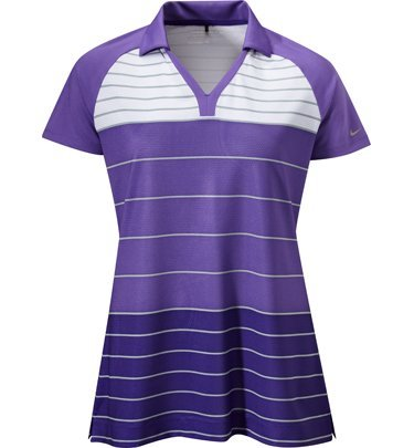 Nike Golf 518083 Women's Stripe Tunic Polo Size Large