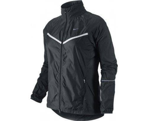 Nike 405222-010 Women's Windfly Running Jacket Size Large Black