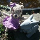 Handmade Crochet Stuffed Amigurumi Teddy Bear for Child