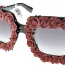 Sunglasses Dolce & Gabbana DG 4253 501/8G Women Black Spanish Roses