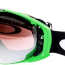 Sunglasses Oakley Airbrake OO 7037 59-73759-737 Unisex Green Goggles Mirrored