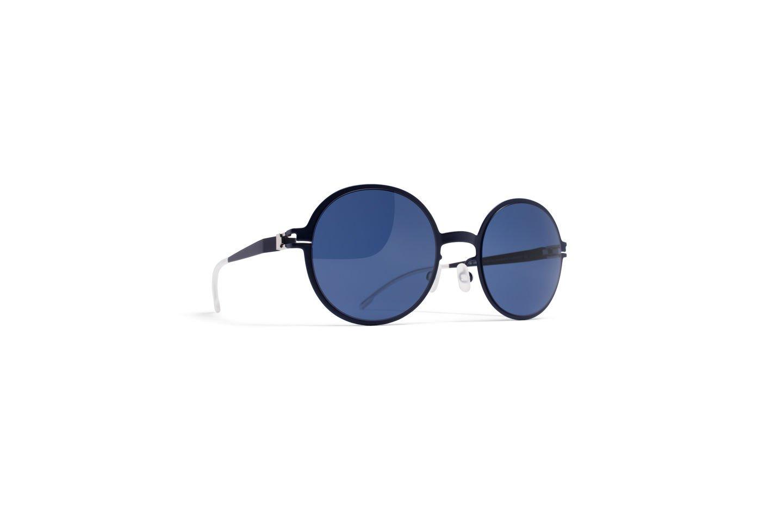 Sunglasses Mykita FLAMINGO R4-Nightblue First Sun Collection Kid Blue Round