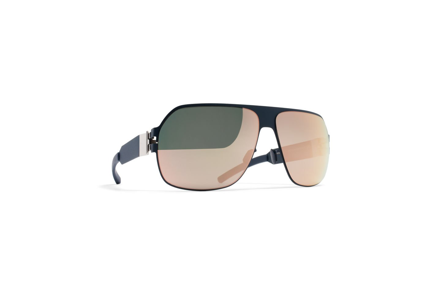 Sunglasses Mykita XAVER F65-Navyblue Bernhard Willhelm Collection Unisex Blue