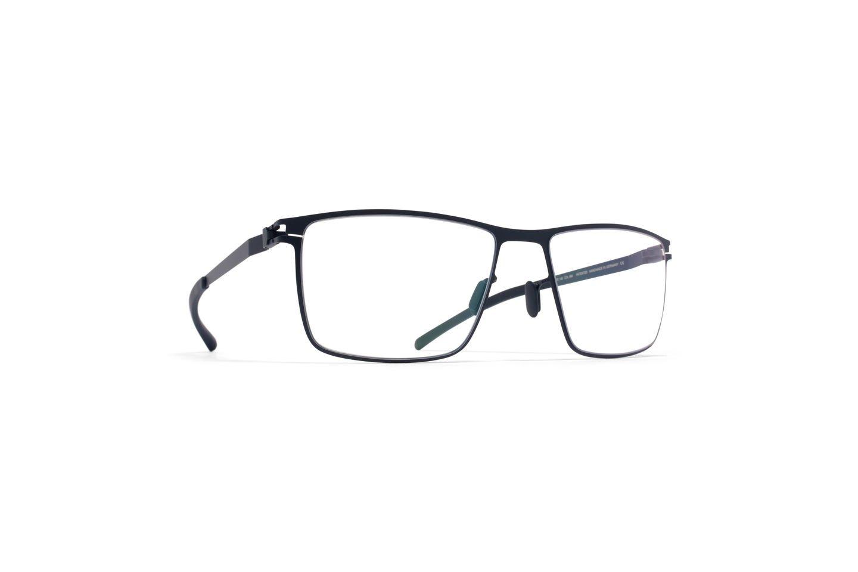 Eyeglasses Mykita No1 THOMAS NAVY/084 Unisex Blue Square Clear