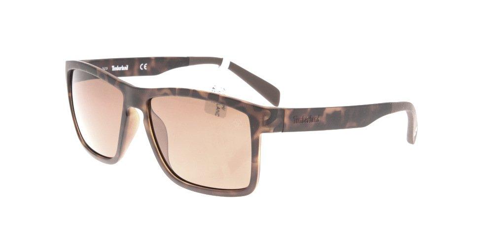Sunglasses Timberland TB 9081/S 52H Unisex Tortoise Square Polarized