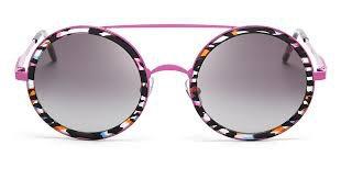 Sunglasses Wildfox WINONA FPNK Women Pink Round Gradient