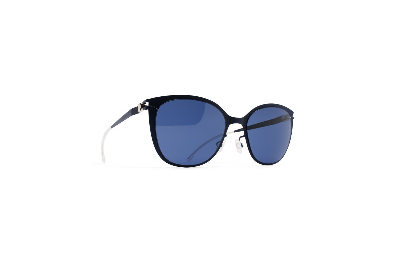 Sunglasses Mykita KEA R4-Nightblue First Sun Collection Kid Blue Square