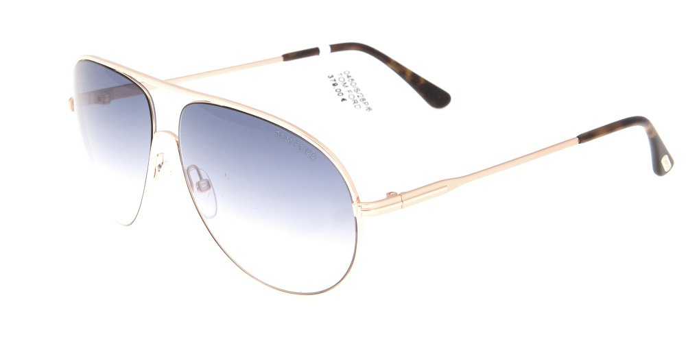 Sunglasses Tom Ford Cliff TF 0450/S 28P Unisex Gold Aviator Gradient