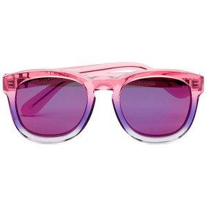 Sunglasses Wildfox CLASSIC FOX DELUXE FRME NIG Women Pink Square Purple Mirrored