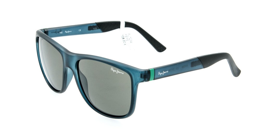Sunglasses Pepe Jeans Enzo PJ7234 C3 Unisex Blue Square
