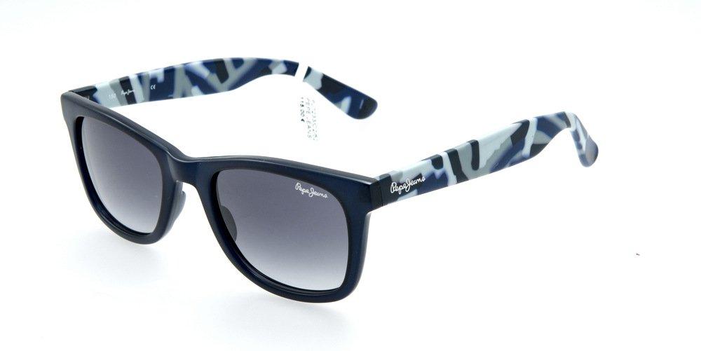 Sunglasses Pepe Jeans Farren PJ7233 C2 Unisex Blue Square Gradient