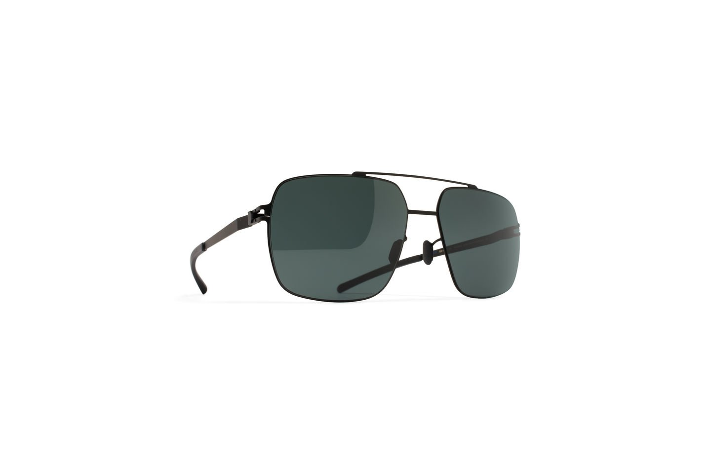 Sunglasses Mykita No1 Sun LANDON MY+ 002 Unisex Black Square Polarized