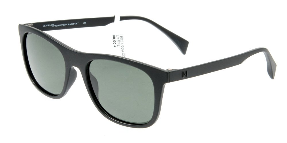 Sunglasses Eyeye IS021 009.000 Unisex Black Square Polarized