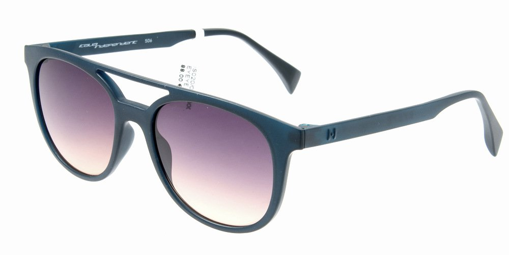 Sunglasses Eyeye IS020 021.000 Unisex Dark Blue Square Gradient