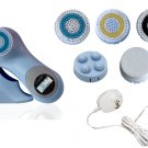 Sonic Facial Skin Care Cleansing Brush System plus pro mia - Baby Blue