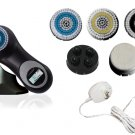 Sonic Facial Skin Care Cleansing Brush System plus pro mia - Black