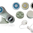 Sonic Facial Skin Care Cleansing Brush System plus pro mia - Green