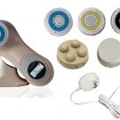 Sonic Facial Skin Care Cleansing Brush System plus pro mia - Tan