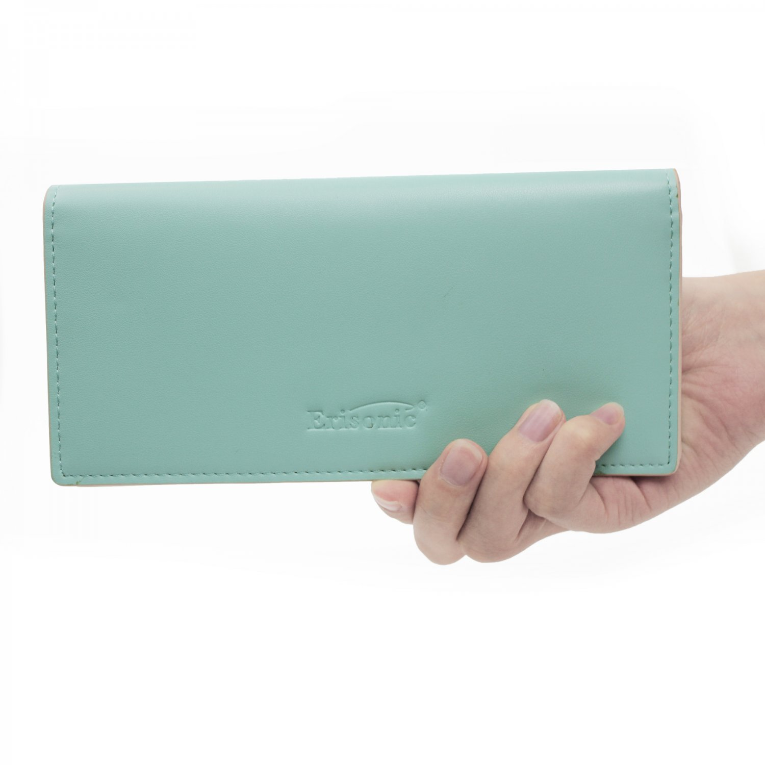 Erisonic Leather Smart Wallet Bluetooth Safe Wallet with app for women fashion wallet