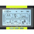 TS6ABH HealthmateForever TENS Unit Electrical Muscle Stimulator Yellow + 2 Pairs of Pads