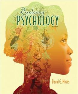 Exploring Psychology by David Myers (9TH Edition) ebook PDF