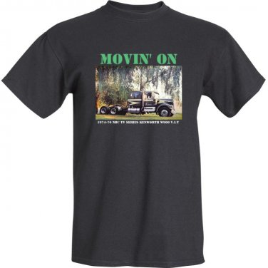 Movin' On Kenworth V.I.T. T Shirt - Claude Akins - 2XL size