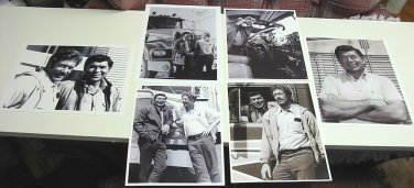6 Photos of Claude Akins & Frank Converse from TV Series Movin' On