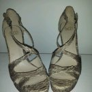 Joan David shoes brown leather sole : Classics, Snakeskin US Shoe Size 8.5