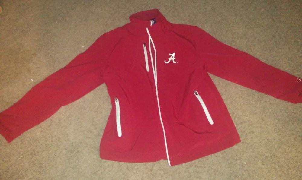 Alabama Crimson Tide Jacket : Football Jackets, Red, Regular Season NCAA