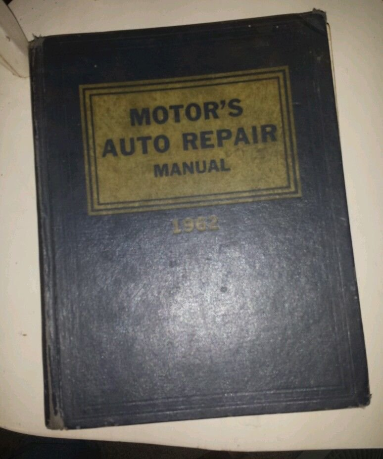 Motor's Auto Repair Manual 1962, 25th Edition Hardcover