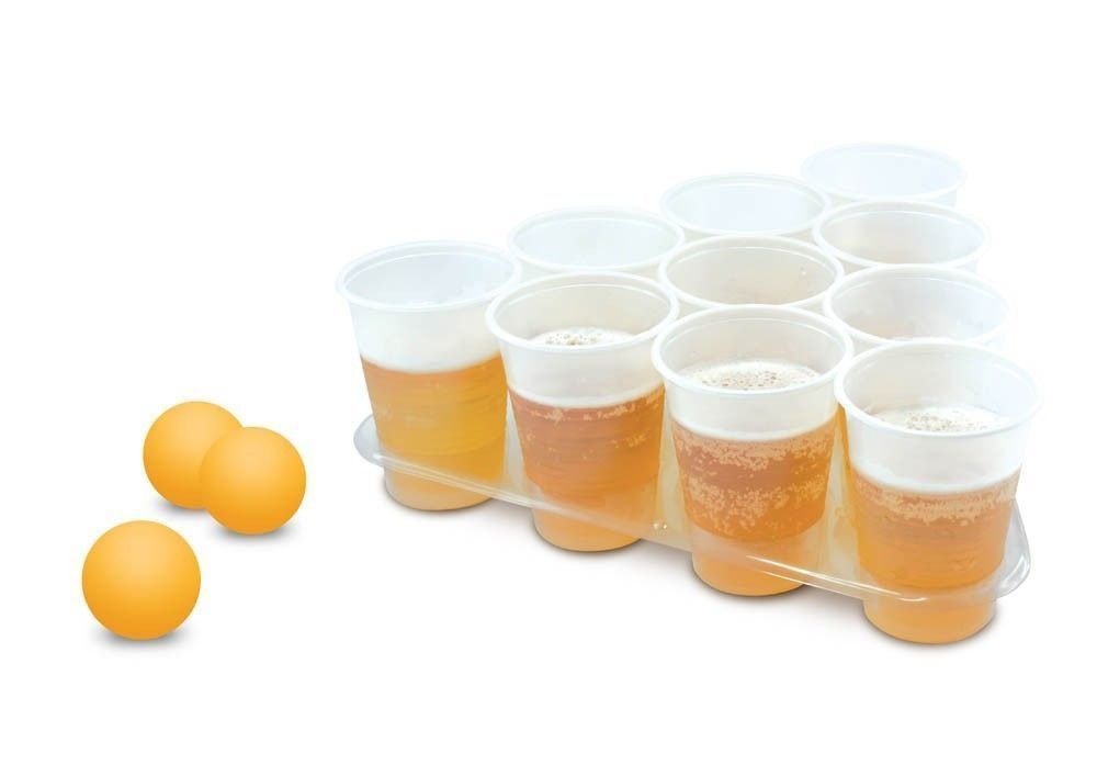 Beer Pong Set : Cool Beer Pong set -  College party games