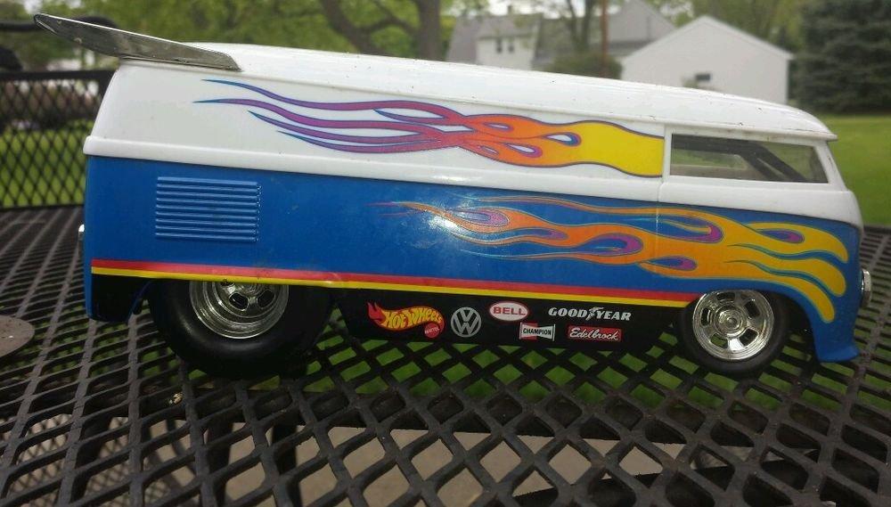 Hotwheels volkswagen Drag bus - VW Drag bus Good year