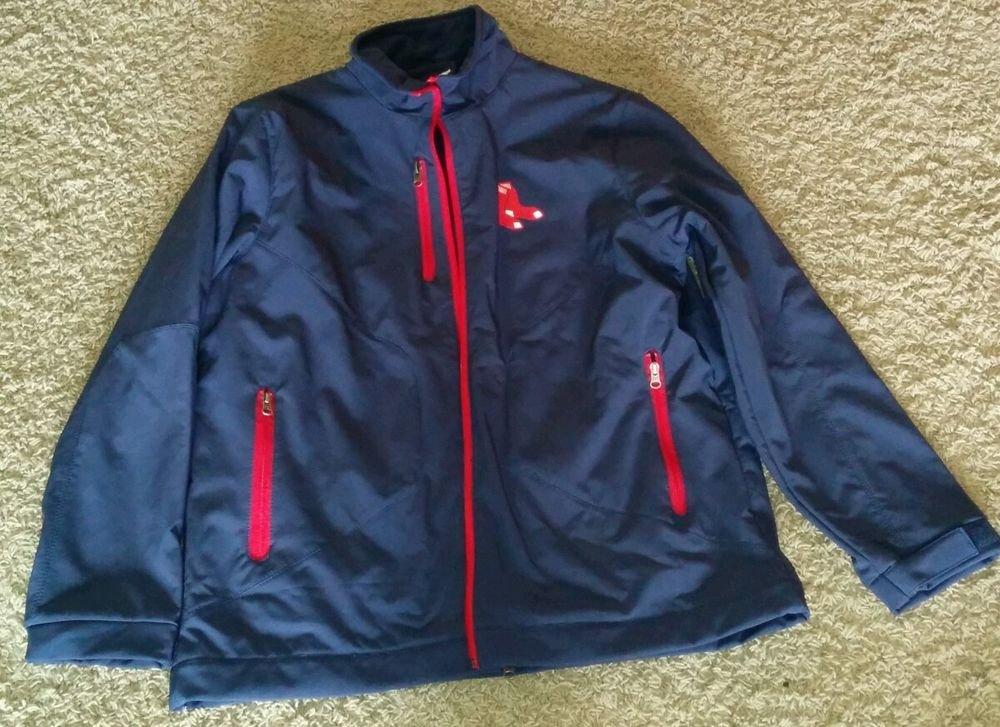 MLB Jacket Boston Red Sox Blue MLB -GIII Sports by Carl banks Regular Season L
