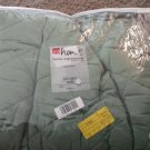 JCPenney Home Expressions King Bedspread Olive 100% Cotton NIP #28