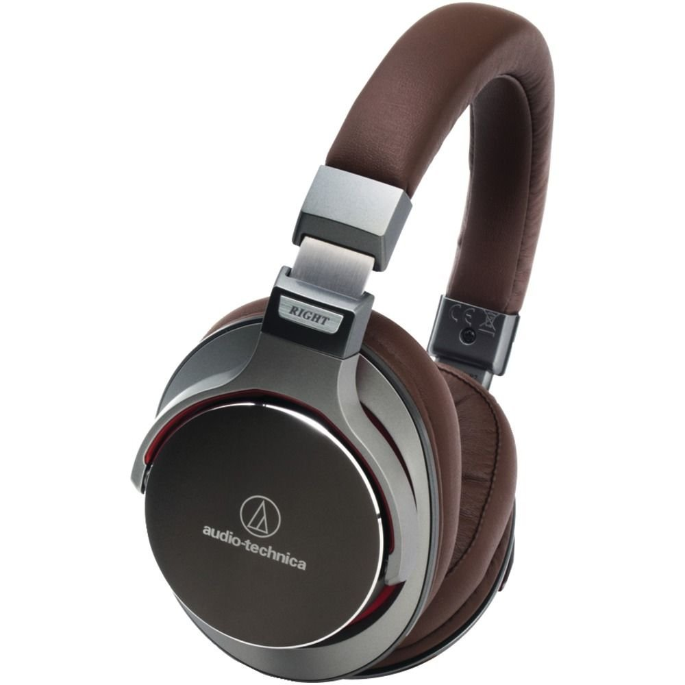 Audio Technica Sonicpro Msr7gm Over-ear High-resolution Audio Headphones gunmet