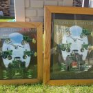 John Deere Celebrating 160 years 1837 to 1997 Framed John Deere Advertising Sign