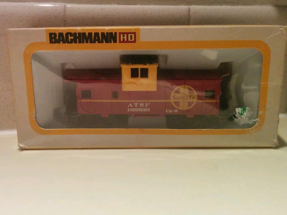"Train Cars Bachmann HO Scale Sante Fe ASF 999628 Caboose - LNIB! ""SAVE NOW"""