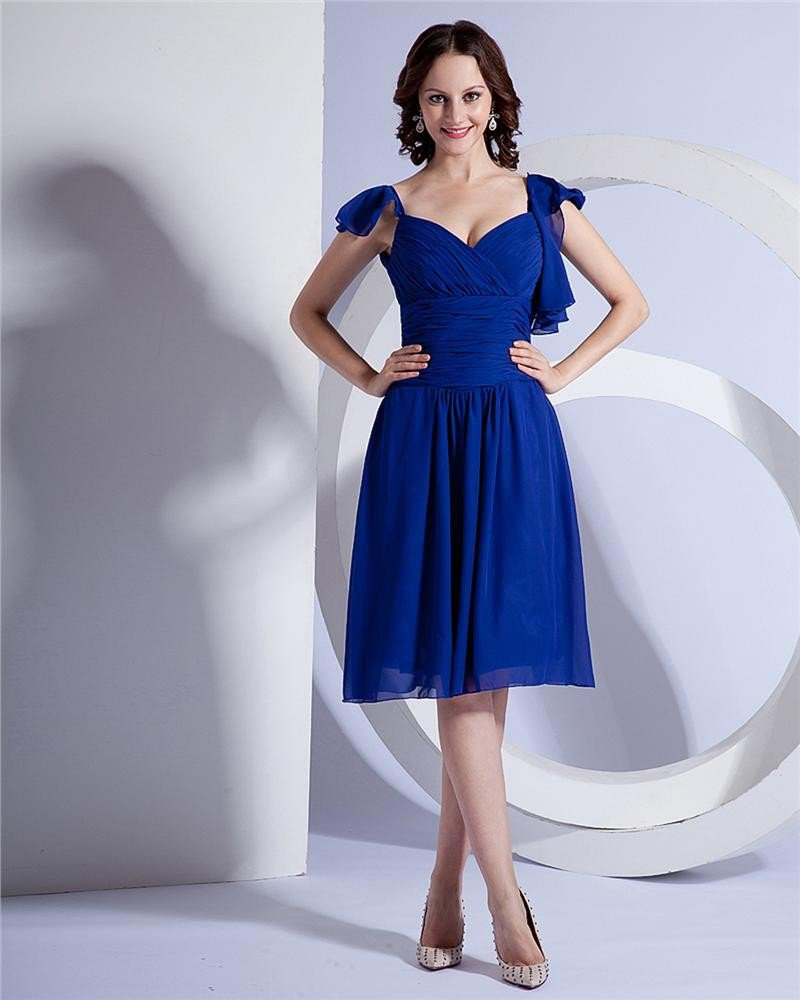 Sexy Charming Fashion Chiffon Bridesmaids Dresses