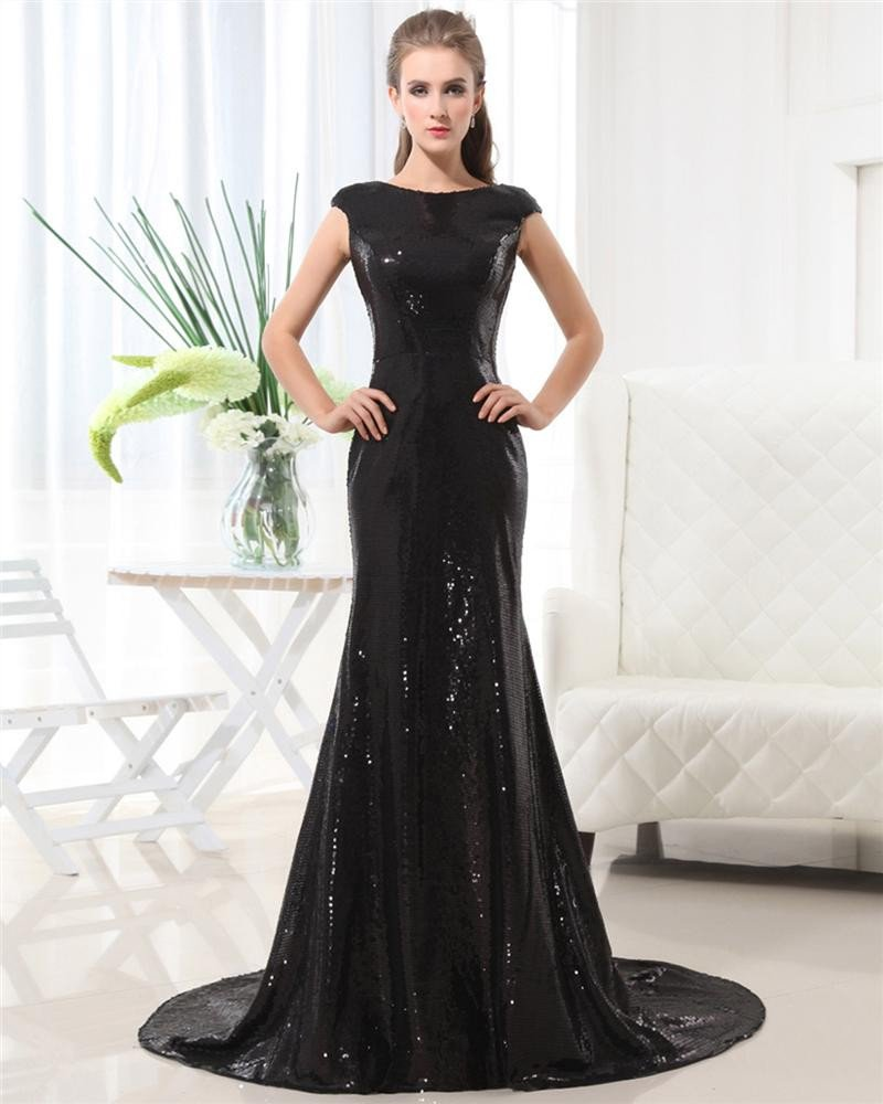 Pretty Lace Sequins Sleeveless Floor Length Evan Rachel Wood Celebrity Dress