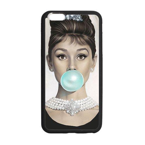 Audrey Hepburn Tiffany Blue Bubble Case for iPhone 6 Plus