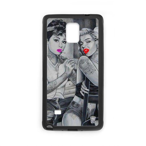 Audrey Hepburn And Marilyn Monroe Case for Samsung Galaxy Note 4