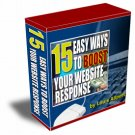 15 Ways to Boost Website Response