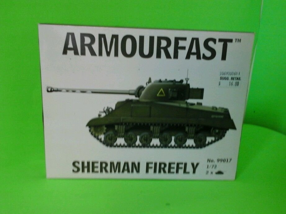 HaT / Armourfast 1:72 #99017 Sherman Firefly (New)