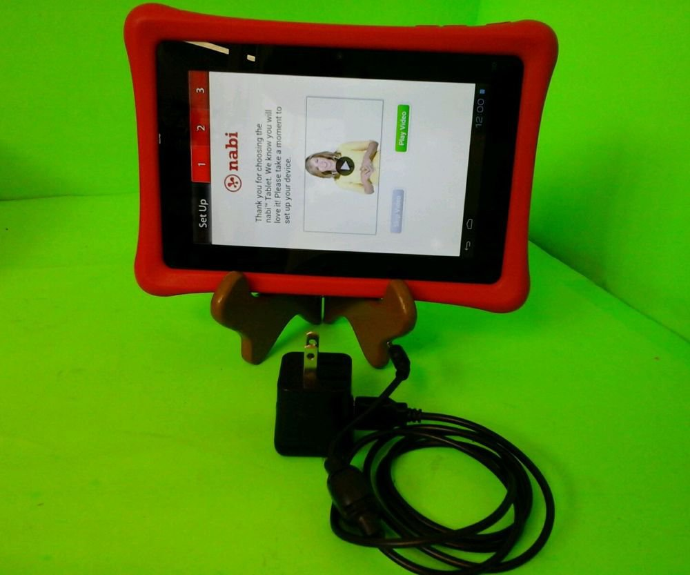 "Nabi Tablet 8"" PC 2 8GB (NABI2-NV7A) NICE KIDS TABLET WITH PARENTAL CONTROLS"