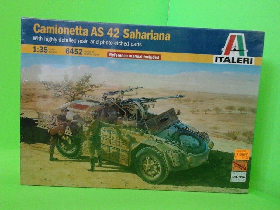 U.S.Dealer!  Italeri 1/35 Scale Camionetta AS 42 Sahariana Desert Reconnaissance